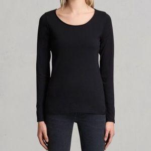 All Saints long sleeve tshirt size USA 2 XS